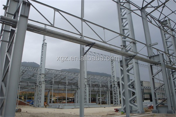 fast erection cost-effetive prefabricated design of workshop