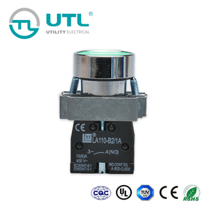 UTL Local Products Illuminated Mechanical Push Button Switch For Household And Industry