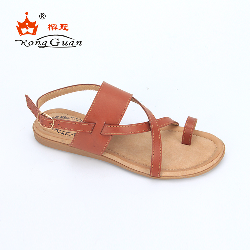 China Wholesale New Design Fashion Flat Summer Women <strong>Sandals</strong>