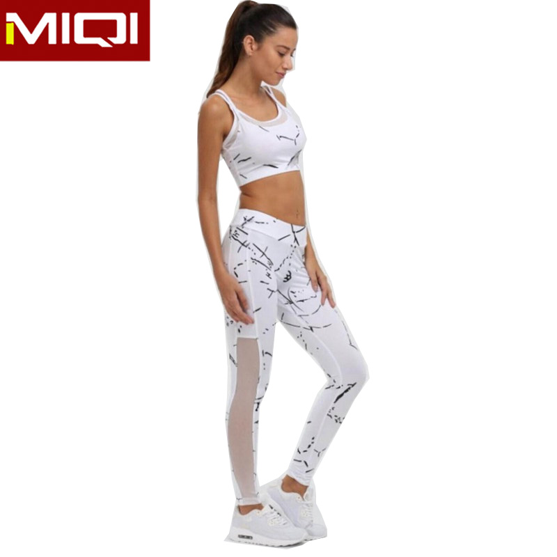 Ladies Two Piece Sports Bra and Legging Set Gym Activewear Bulk Custom  Print Women Active Wear Sets 227ecf8c9
