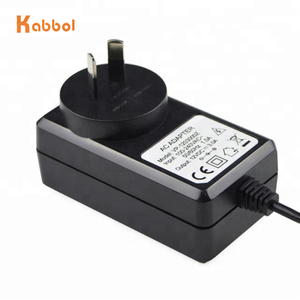 Wall-mounted 12v 3a ac dc adapter 5.5*2.5mm power adapter kc certified PCB 12volt 3amp ac dc power adapter 36w