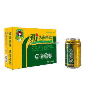 Factory Price Brown Ale Lager Beer 330cc 500cc