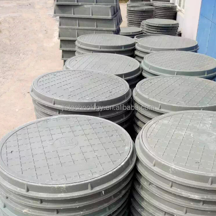 FRP PVC SMC BMC DMC composite sewage draiange manhole cover with frame grass manhole cover tree grating manhole cover