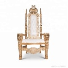 China Living Room fashion marriage classy king chair for wedding HY-K127