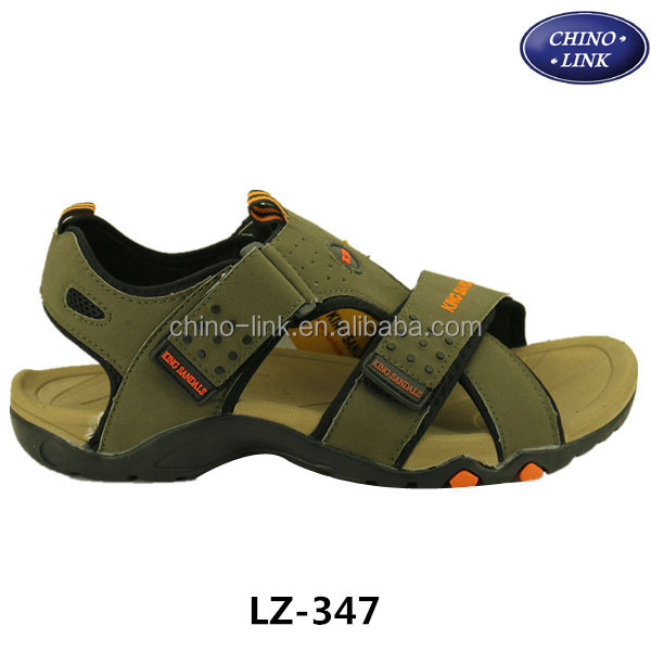 Pu leather upper comfortable latest fashion sandal 2015