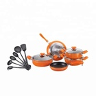 non-stick kitchen chef appliances aluminum cooking set