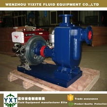 trailer portable Diesel Sewage Pump,