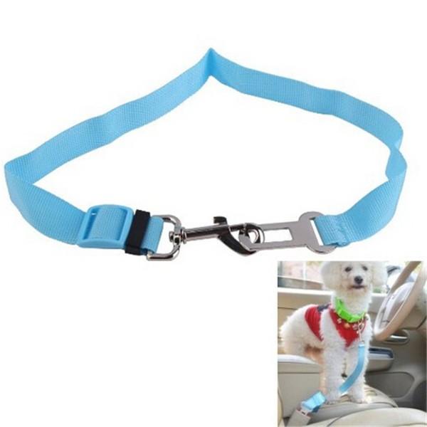 Cat Dog Pet Safety Seatbelt Car Vehicle Seat Belt Adjustable Harness Lead
