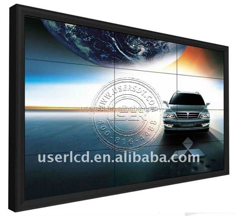 "55"" indoor Samsung seamless LED Video Wall for live show with high resolution"