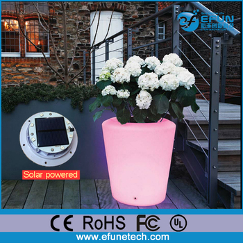 Alibaba & Ip64- 68 Outdoor Rgb Color Changing Decorating Garden Solar Led Flower Pot Light - Buy Solar Led Flower Pot LightLed Flower Vase LightLed Solar ...