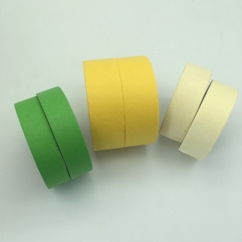 home painting colorful crepe paper masking tape
