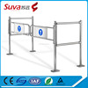 Security mechanical pipe swing gate for supermarke entrance and exit