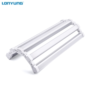 ETL CE shape wattage adjustable replace linear led high bay flexible led tube light 45w 100w 200w
