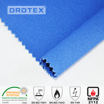 high quality FR Static-free Fabric for Workwear antistatic stripe and grip