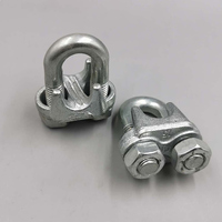 Cheap price fastener rigging hardware custom steel iron wire rope clip cross