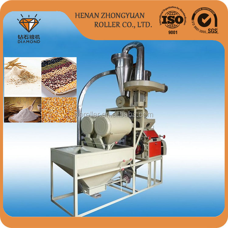 80t quality home use corn rice flour roller milling machine cutter price