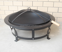 Outdoor Garden Fire Pit Cooking Grill and Fire Pit Table Wholesale Steel Fire Pit