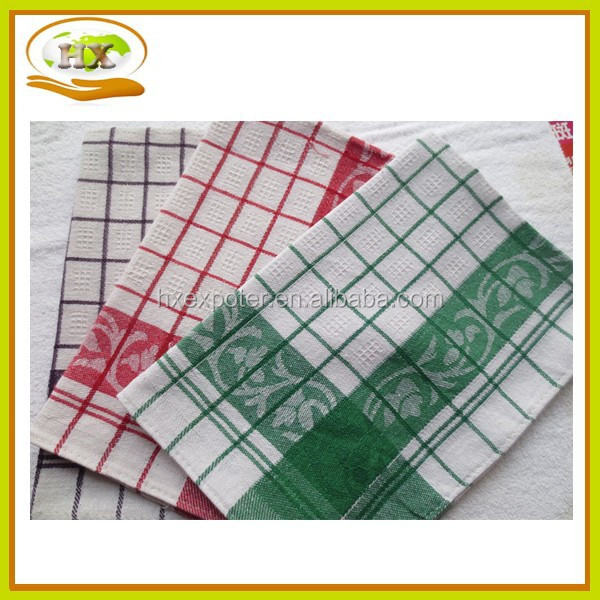 Kitchen Textile Custom Plain White Linen Cotton Kitchen