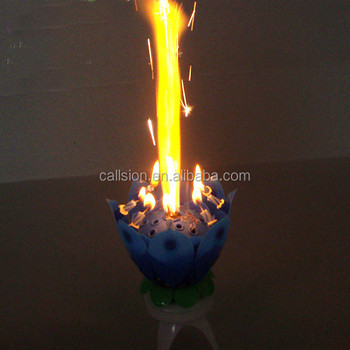 Fireworks Sparkling Birthday Candle