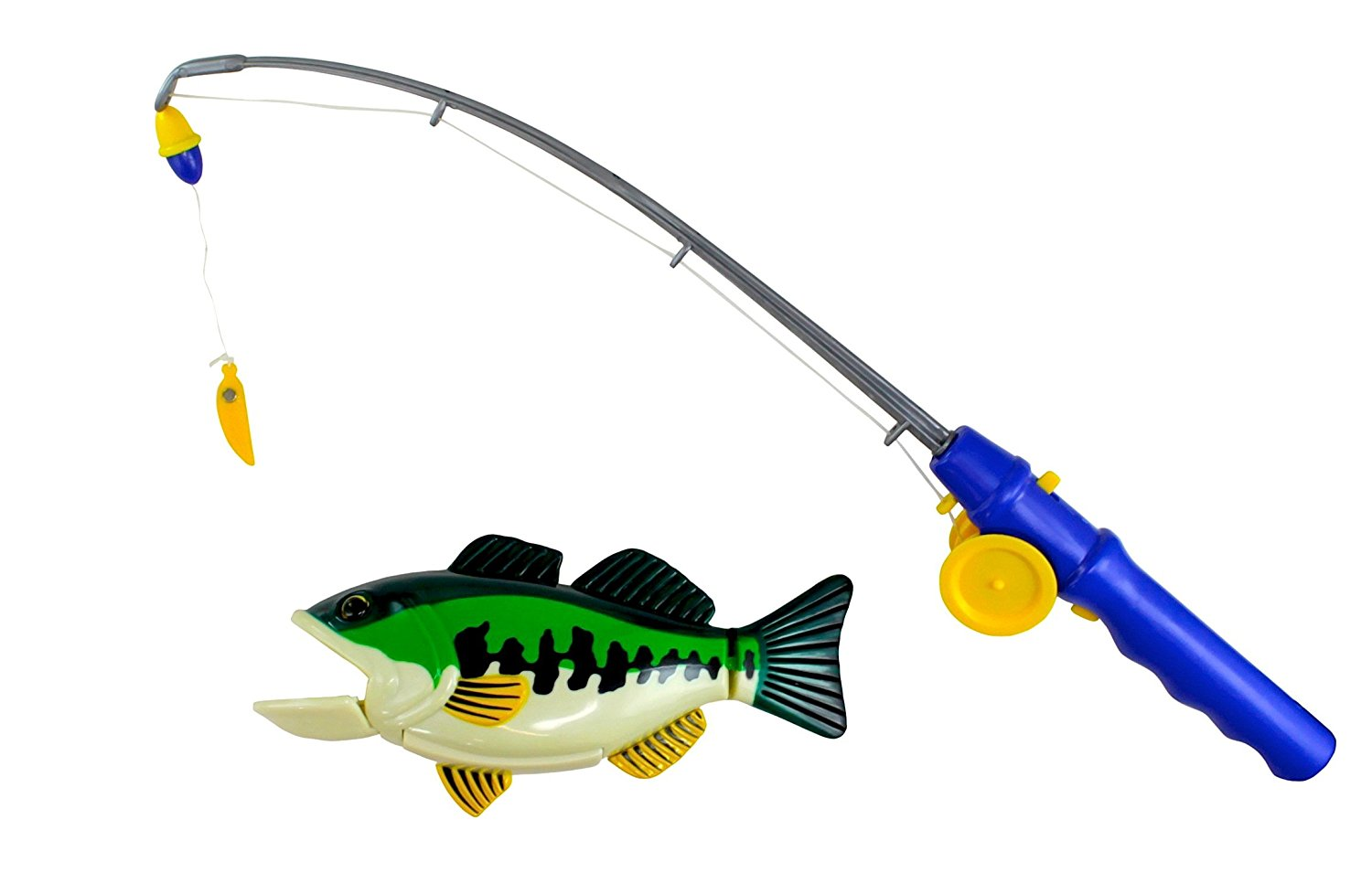 Buy Bass Fishing Bathtub Toy - Swimming Fish in Cheap Price on ...