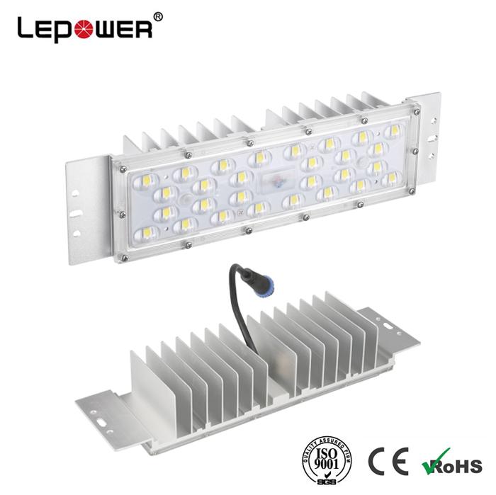 Solar design aluminum casting LED street light module 50W 40W 30W LED module 180lm/w 200lm/w