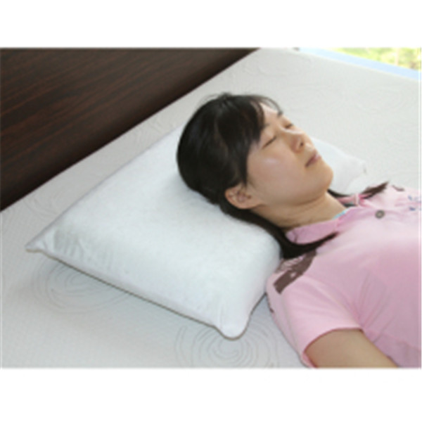 feather pillow with double-faced woolen goods