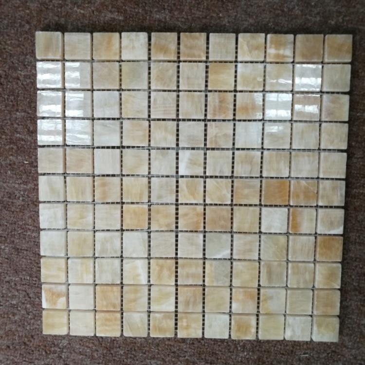 Honig Onyx Platz Chips Marmor Mosaik 12x12 Zoll Fliesen Für Bad Luxus  Dekoration