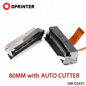 Dprinter D347C Printer Mechanism 80MM Thermal Printer Head with AUTO CUTTER 180mm/s