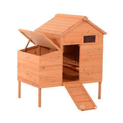 China Wooden Chicken Coop with Run Cage Laying Box