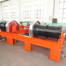 Electric lifting hydro mine dozer winch gate รอก