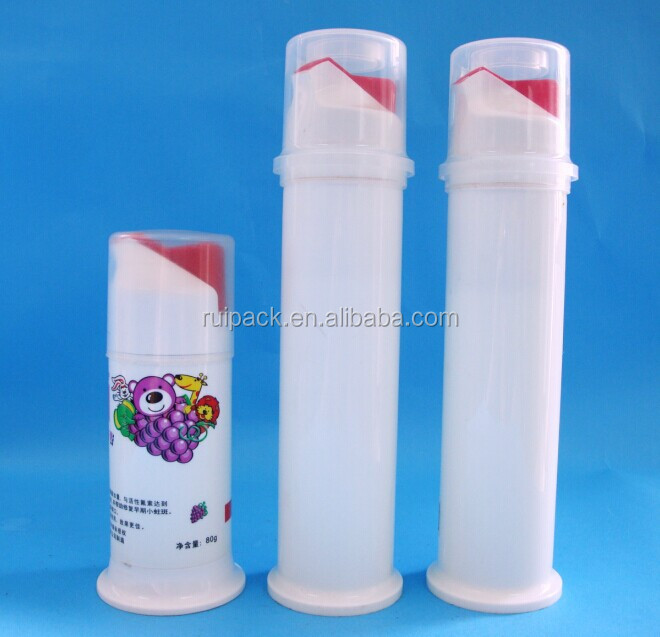15ml 30ml Airless Toothpaste Bottle Buy Plastic Airless