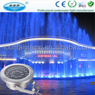 Submersible Led Underwater Fountain Ring Light For Fountain Light ...