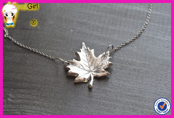 Sterling silver canada necklace maple leaf necklace charm pendant sterling silver canada necklace maple leaf necklace charm pendant jewelry aloadofball Gallery