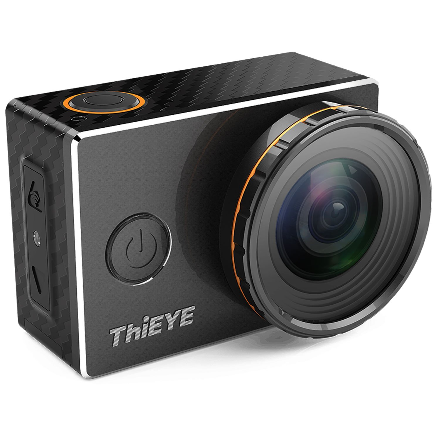 "ThiEYE 4K Action Camera Wifi Waterproof Sport Video Camera 12MP Full HD 2"" Screen with Multiple Modes, 170 Wide Angle, 197FT Waterproof, App Control and Full Accessories (V5s)"