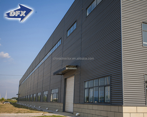 Prefabricated steel structure American furniture fast erection warehouse