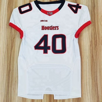 Excellent quality custom made sublimation american football jersey