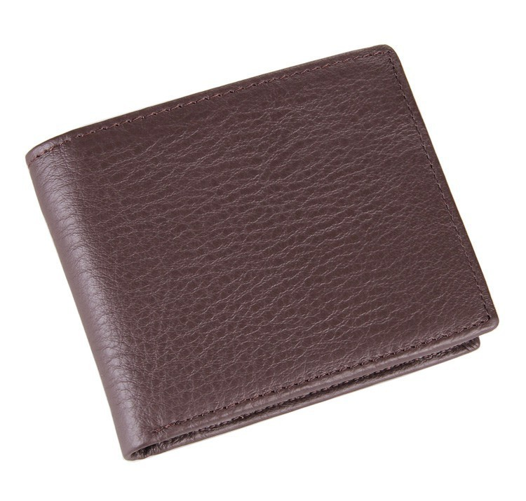 8063 100% Genuine Leather Men Coin Walet