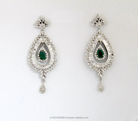 High Quality American Diamond Earrings