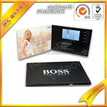 Hottest LCD-TFT Video Greeting Card/LCD Video Brochure/ LCD Video Booklet for advertisement/ gift