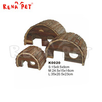 Cheap new design small animal wooden hamster cage for sale
