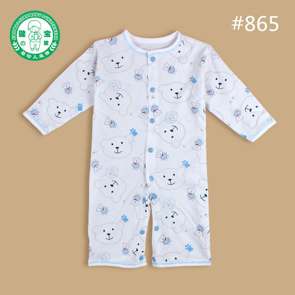 Child Wholesale Clothes Baby Rompers Baby Night Suit 100 Cotton