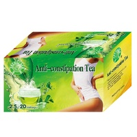 detox and colon cleansing 2g*20 sachets/box weight loss benefit anti-constipation tea