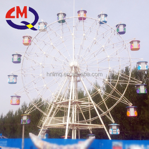 2017 new model large 42m amusement park ferris wheel