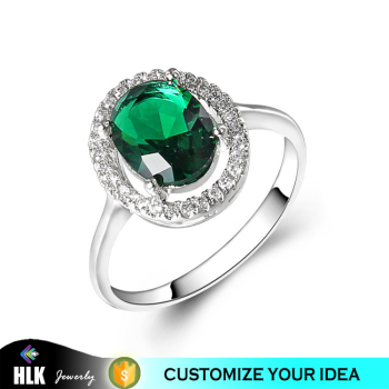item in rose emerald on cut classic plated brilliant gold ring oval accessories fashion color women from dark jewelry green rings single stone crystal