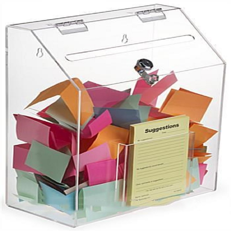 Wholesale Clear Acrylic Handmade Mailboxes