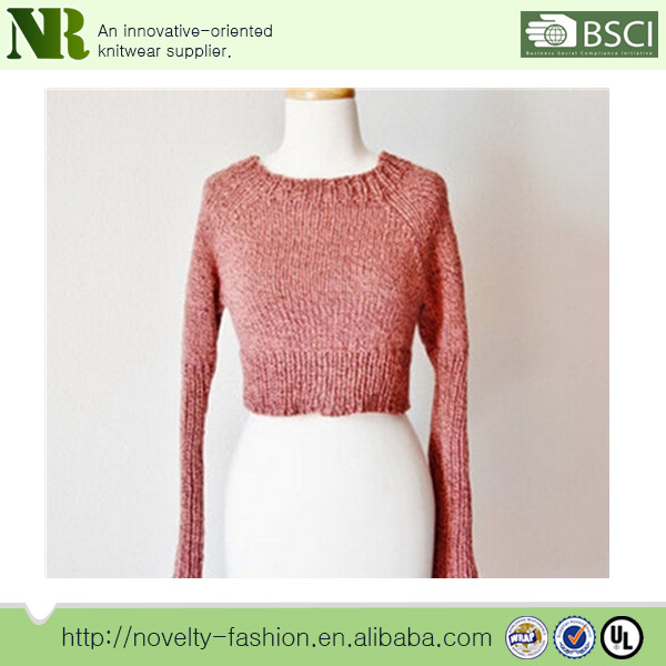 Young girls sweater knitting sweaters Women Sweater Woolen sweater designs  for ladies