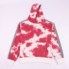 Low MOQ Mens Reflective Sleeve Cotton French Terry Tie Dye Hoodie