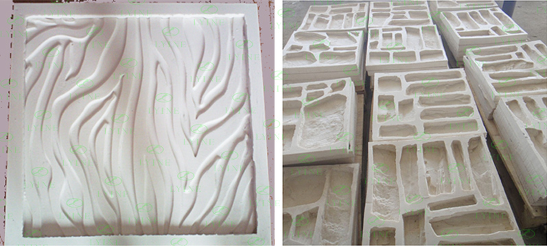 Lyine Silicone Stone Mold For Concrete Tile Decorative