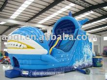 AOQI design giant fantasy inflatable water slides children play game made in China
