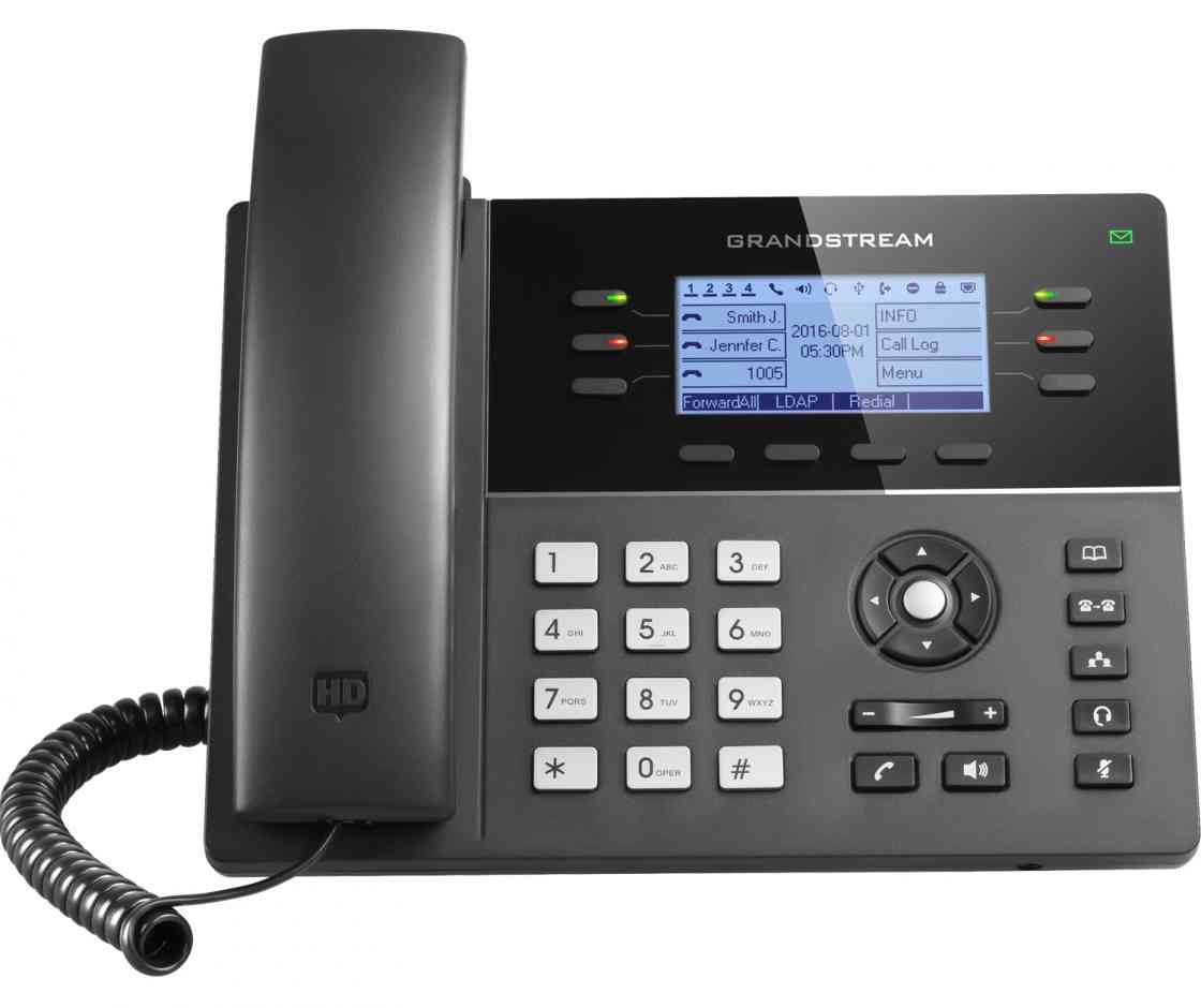 Low cost 6 lines, 3 SIP accounts wireless sip IP phones GXP1760W